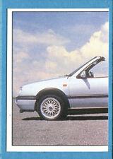 AUTO 2000 - SL - Figurina-Sticker n. 120 - VW GOLF CABRIOLET 1.8 1/2 -New