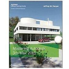 Mastering Autodesk 3ds Max 2013, Harper, Jeffrey, Good Book