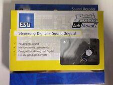 """+++ ESU 56899 LokSound micro V4.0 """"Universal, mit 8-pol. NEM652 Schnittstelle"""