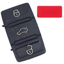 HQRP 3 Botones Carcasa Mando Remoto de compatible con VW Golf Rabbit GTI Mk4 MK5