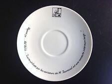 Jolie assiette à dessert en Porcelaine Tintin ETAT NEUF Tim Kuifje