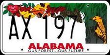 Licence Plate - ALABAMA  Kennzeichen USA Nummernschild DEKO, NEU OVP!!
