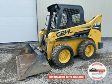 2017 Gehl R190 Skid Steer Orops Hyd Quick Attach Pilot Controls 136 Hours