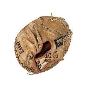 Vintage Montgomery Ward Baseball Catcher's Mitt Glove RH Tanned Prime Leather