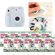 Fujifilm Instax Mini 9 cámara humo blanco 10 Packs Fuji Film 100 Foto 8
