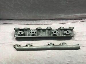 "New Vintage Jaguar, Type ""C"", 2 Piece Intake Manifold, Inline 6 Cylinder, 1950's"