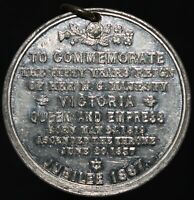 1887   Commemorating 50 Years Of Queen Victoria's Reign Medal   KM Coins