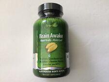 Irwin Naturals Brain Awake, 60 Softgels, Sealed