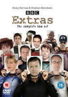 Extras: The Complete Collection DVD (2016) Ricky Gervais cert 15 5 discs