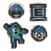 Mega Man Video Game Lapel 4 Pin Set