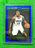 ANDREW WIGGINS ROOKIE NBA HOOPS SP#/349 TIMBERWOLVES 2014-15 HOOPS BASKETBALL RC