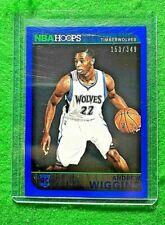 ANDREW WIGGINS ROOKIE NBA HOOPS SP#/349 TIMBERWOLVES 2014-15 HOOPS BASKETBALL RC