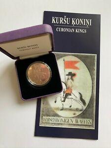 2018 Latvia  5 € coin CURONIAN  KINGS