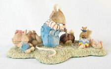 Brambly Hedge Wilfred With Toys Figure BH63 - Border Fine Arts