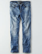 American Eagle Men's Original Straight Extreme Flex Jeans - Medium Wash - 42x32