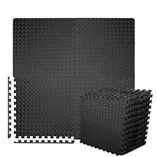 New listing BEAUTYOVO Puzzle Exercise Mat with 12 Tiles Interlocking Foam Gym Mats, 24'' x 2