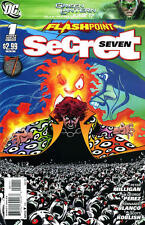 FLASHPOINT: SECRET SEVEN (2011) #1-3 COMPLETE SET LOT FULL RUN SHADE RAVEN DC