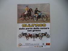 advertising Pubblicità 1979 MOTO BULTACO PURSANG/FRONTERA/SHERPA/ALPINA