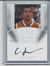 CORY JOSEPH 2011-12 UD EXQUISITE SPURS TEXAS LONGHORNS ON CARD AUTO RC #D /199