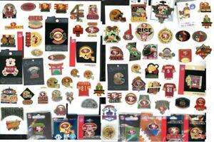 49ers Vintage Pin Choice Montana Owens Hearst Garcia Jones Super Bowl 3Com