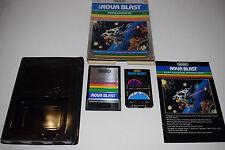 NOVA BLAST Intellivision INTV Game CARTRIDGE COMPLETE In BOX TESTED Imagic #2