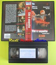 film VHS CHI E' SEPOLTO IN QUELLA CASA? horror KATT MOLL WENDR LENZ (F43)*no dvd