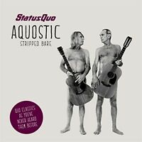 STATUS QUO - AQUOSTIC (STRIPPED BARE)  CD NEW!