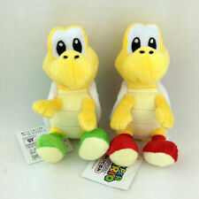 2X Super Mario Bros Plush Red Green Koopa Troopa Nintendo Stuffed Animal Toy 6""