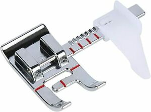 Adjustable Sliding Seam Allowance Guide Foot for Brother Sewing Machine