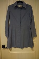 Wonderful tunic/dress by Deborah Johnson New York in Navy and Blue stripes