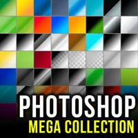 PHOTOSHOP (ADOBE CS,CS2, CS3,CS4, CS5, CS6, CC) MEGA DESIGN PACK