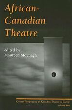 AFRICAN-CANADIAN THEATRE NEW PAPERBACK BOOK