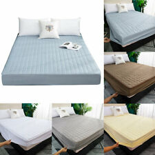 Waterproof Twin Mattress Cover Quilted Protector Home Fitted Queen/King Sheets