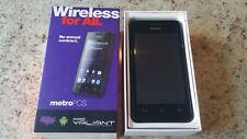 Huawei Valiant - 4GB - Black  MetroPCS - Smartphone (In Box)
