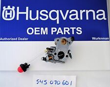 OEM Husqvarna Carburetor 545070601  Zama W-26 Fits Poulan Craftsman   Chain Saw