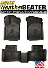Husky 99051 Weatherbeater Floor Mats 11-15 Jeep Grand Cherokee & Dodge Durango