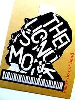 """THELONIOUS MONK Original Pop Art,Music Celebritie,7½""""X9"""" inches Portrait Sticker"""