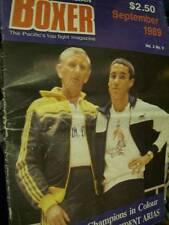 Australian Boxer Magazine September 1989 -Jeff Fenech/Cornett V Da Cruz/Mickey F