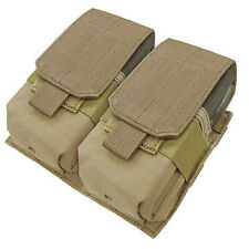Condor Coyote Brown Double Magazine Pouch 308 7.62 Rifle Mags Molle 191089-498