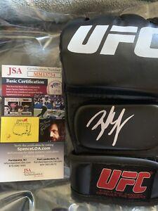 Brock Lesnar Autographed Signed UFC Glove JSA COA