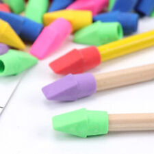 US 50 PCS Erasers Pencil TopEraser Caps Painting Correction Supplies Stationery