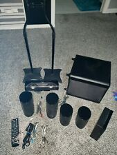 Samsung HT-J5500W 5.1 Subwoofer and Speakers ONLY (No Blu-ray Player) & 2 stands