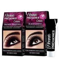 Verona Henna Cream Black Brown Eyebrow 10 Applications Kit Tint 15ml