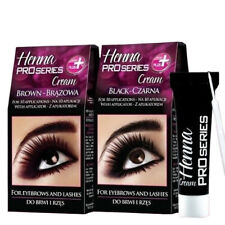 Verona Henna Cream Black Brown Eyebrow 10 Applications Kit Tint 15ml
