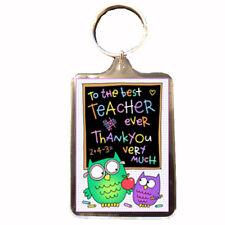 Best Teacher - Novelty Keyring (OWLS) - Gift