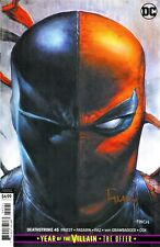 Deathstroke #45 Year Of Villain Variant Edition Signed By Artist David Finch