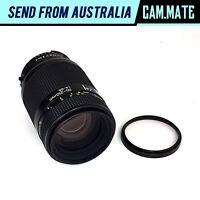 Nikon AF Nikkor 70-210mm F/4-5.6 Zoom Lens w/ Filter & Cap Made in Japan N8094