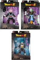Dragon Stars Series 4 Action Figure Set ~ Rose Goku, Zamasu & SSGSS Blue Vegeta