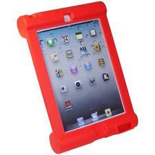 iPad CASO DE LA PRUEBA DEL CHOQUE Rojo Bolsa Protección