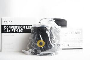 Sigma FT-1201 1.2x Conversion Lens for DP3 Quattro (NEW)